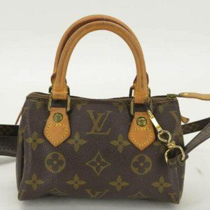 Louis Vuitton Mini Speedy HL Nano Bandouliere With